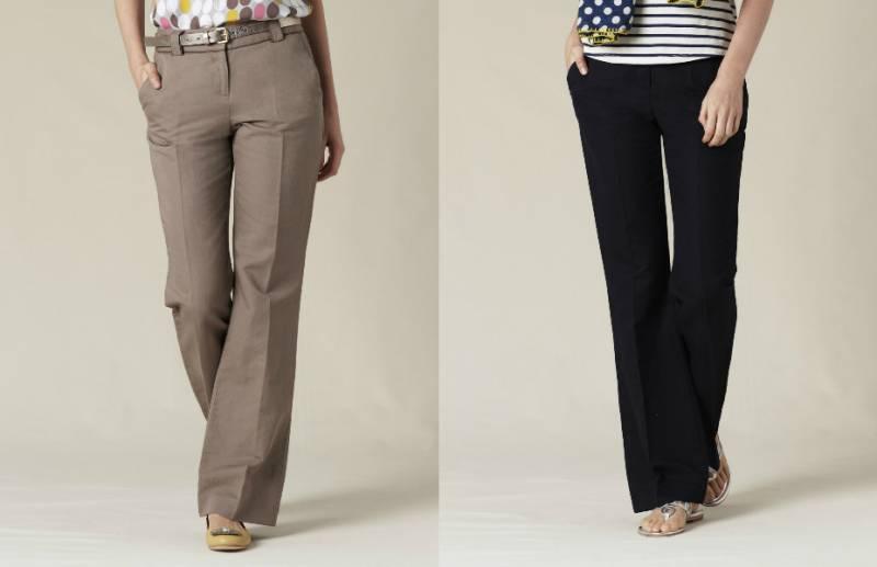 Розкльошені брюки були справжньою окрасою військових моряків. Застосувати  до жіночого гардеробу формений одяг спробувала революціонерка в області  моди Коко ... ee3200cd591b8