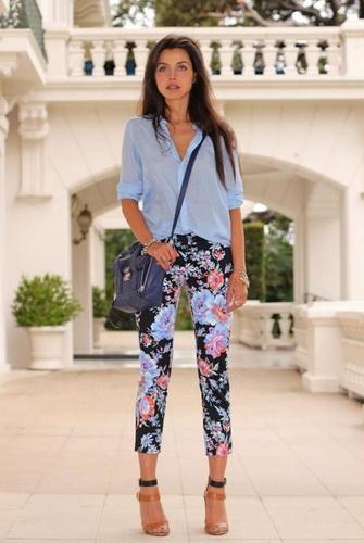 З чим одягнути вузькі короткі штани. З чим носити широкі укорочені ... c36d19a270db9