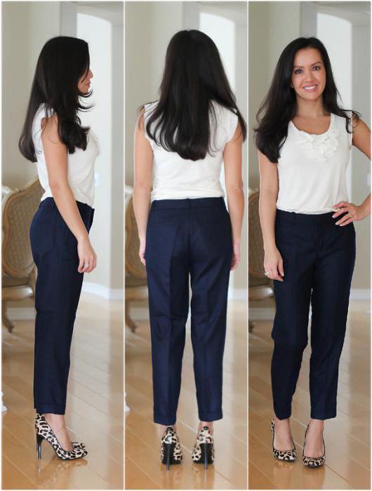 Кремовые брюки женские с чем носить 173