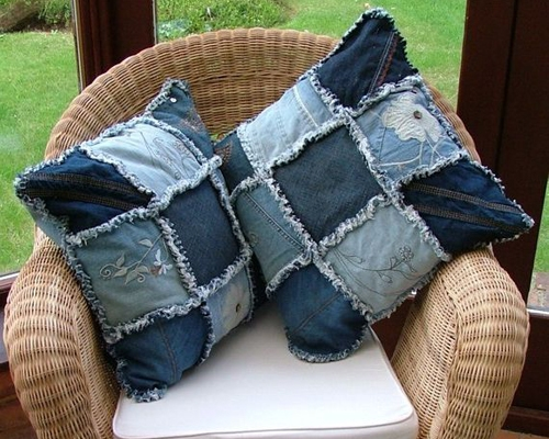 e8b3a2a4222611 Шиття з джинсових штанів. Старі джинси. Викинути не можна, переробити