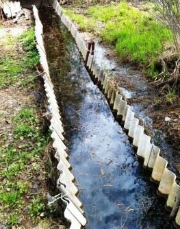 Отвести воду на даче, дренажные