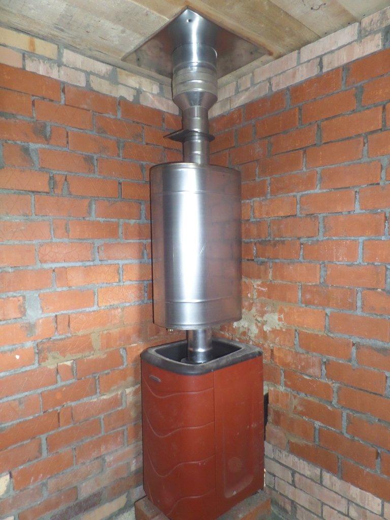 Обогрев воды от трубы дымохода купить печи и дымоходы в великом новгороде